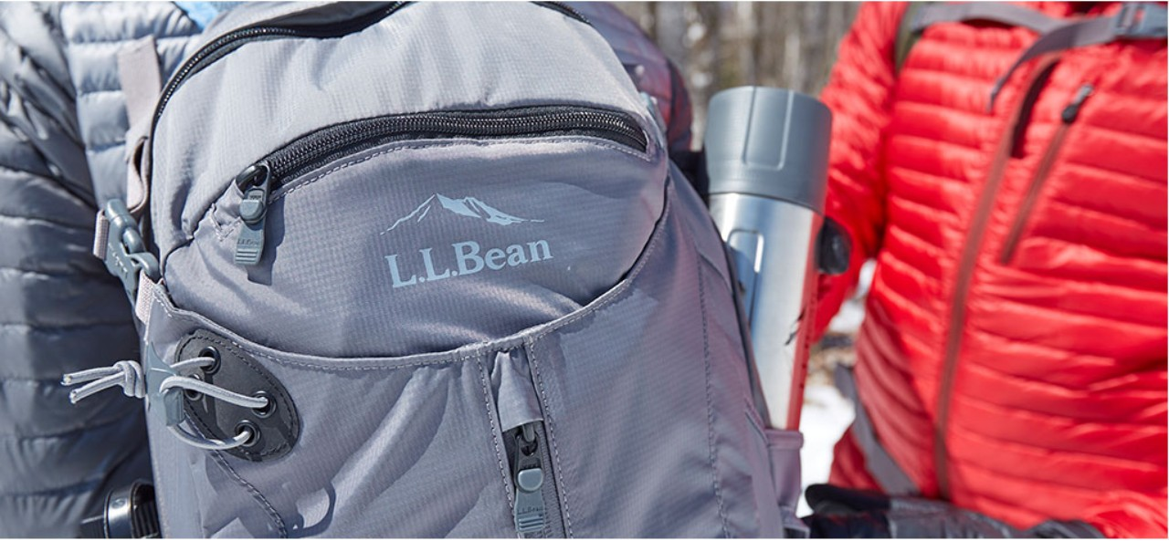 Close up of a day pack