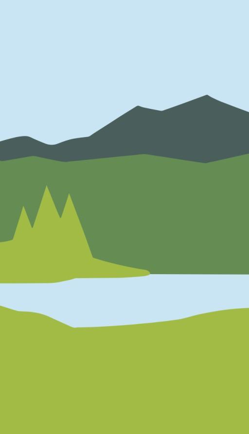 graphic landscape