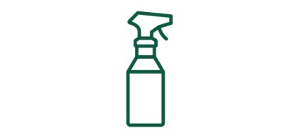 Illustration of a spray bottle.