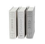 Bookshelf Games, Set of 3.