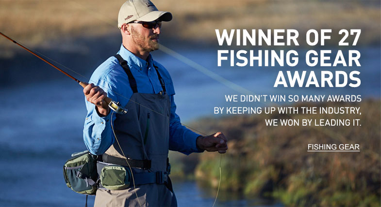 WINNER OF 27 FISHING GEAR AWARDS We didn't win so many awards by keeping up with the industry, we won by leading it.