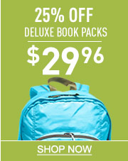 25% Off Deluxe Book Packs. Now Just $29.96.