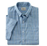 Easy-Care Chambray Sportshirt.