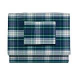 Heritage Plaid Percale Sheet Set