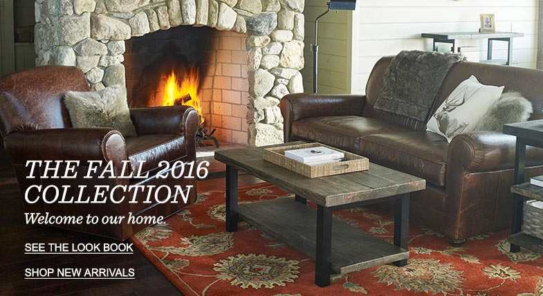 THE FALL 2016 COLLECTION: Welcome to our home.