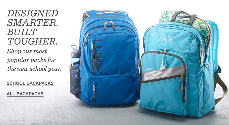 Designed Smarter. Built Tougher. Shop our most popular packs for the new school year.