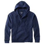 Unshrinkable Waffle Shirt, Hooded Henley