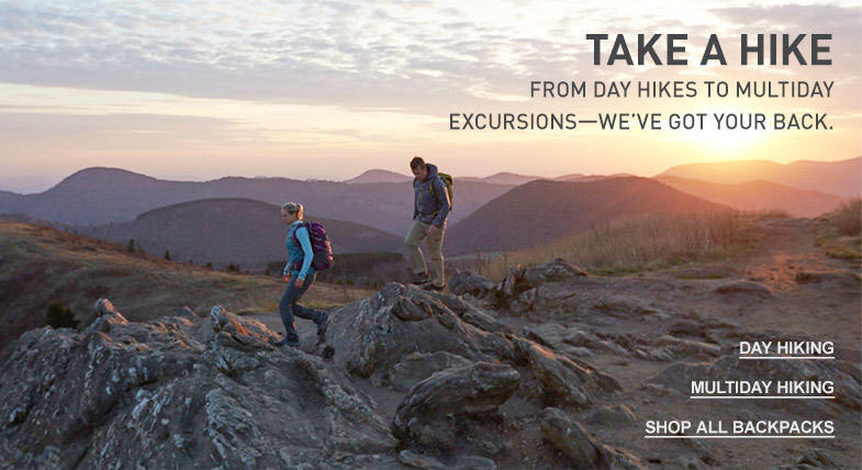 Take a hike: From day hikes to multiday excursions—we've got your back.