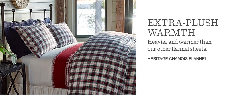 Extra-Plush Warmth: Heavier and warmer than our other flannel sheets.