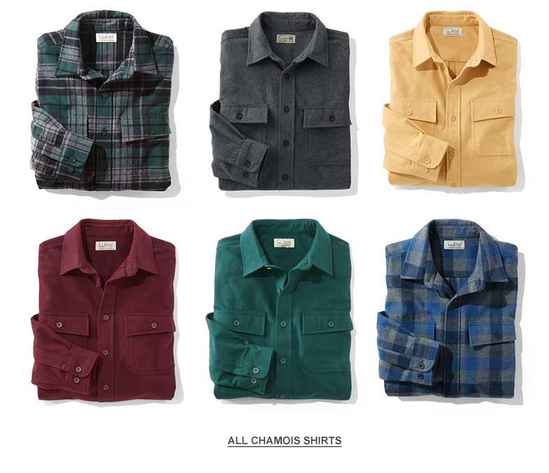 Chamois Shirts