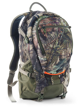 hunting pack in camo
