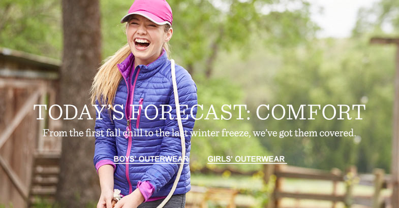 Today's Forecast: Comfort. From the first fall chill to the last winter freeze, we've got them covered.