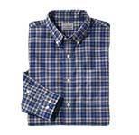 Wrinkle-Free Mini-Tartan Shirt
