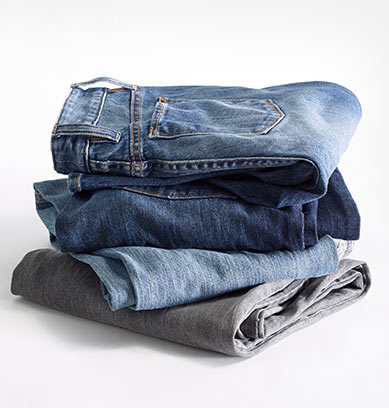 Stack of 1912 Jeans