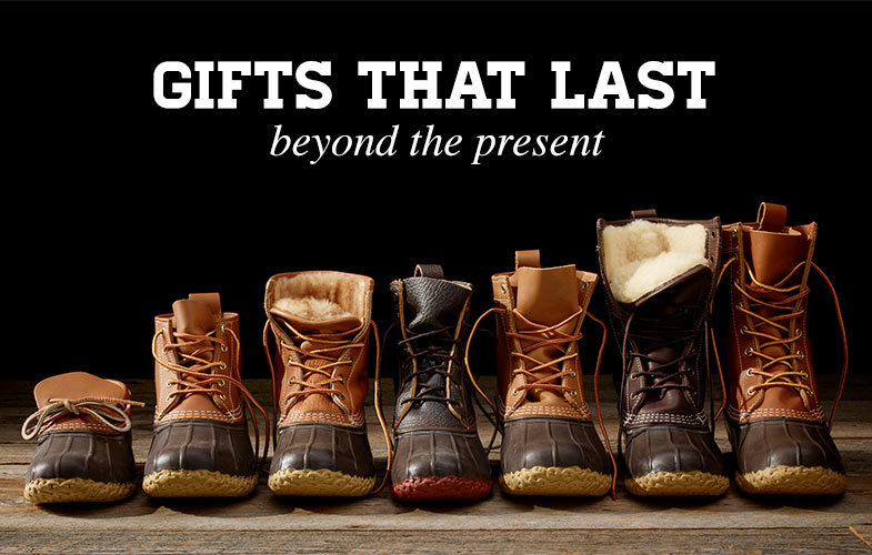 Gifts that last beyond the present.