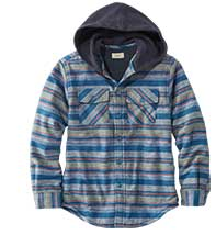 BOYS' FLEECE-LINED FLANNEL