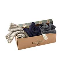WOOL RAGG SOCKS GIFT SET