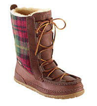 WOMEN'S WICKED GOOD WOOL LODGE BOOTS