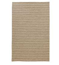 STRIPED WOOL FLAT WEAVE RUG