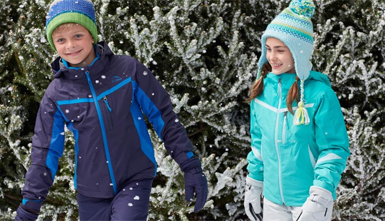 Two images of Kids' Peak 3-in-1 Jackets