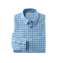 WRINKLE-FREE BRUSHED COTTON SHIRT