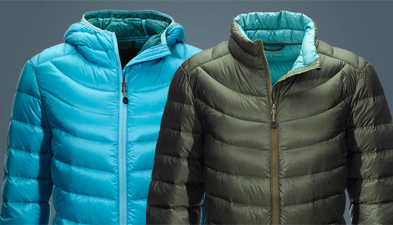 Image of Two Ultralight 850 Down Jackets