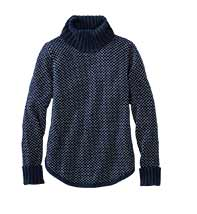 MIDWEIGHT COTTON SWEATER TURTLENECK