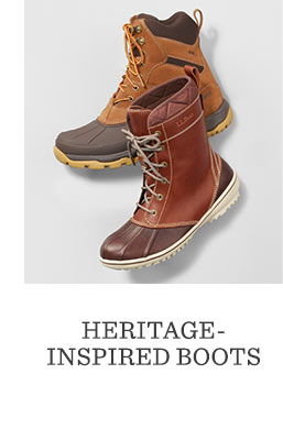 HERITAGE-INSPIRED BOOTS