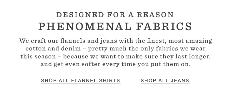 Designed for a Reason: Phenomenal Fabrics