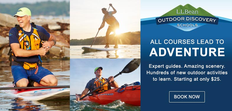 L.L.Bean Outdoor Discovery Schools: All Courses Lead to Adventure.
