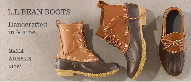 L.L.Bean Boots. Handcrafted in Maine.