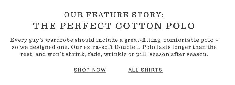 The Perfect Cotton Polo