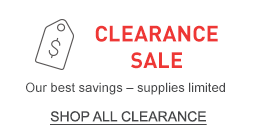 CLEARANCE SALE. Our best savings –XX-SPACE-XXsupplies limited.