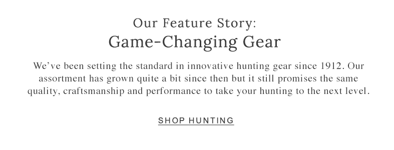 Our Feature Story: Game-Changing Gear