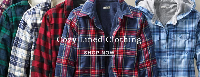 COZY LINED CLOTHING