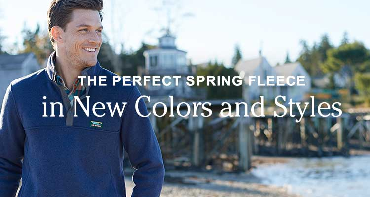 The Perfect Spring Fleece, in New Colors and Styles