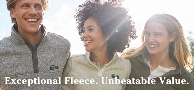 Exceptional Fleece. Unbeatable Value.