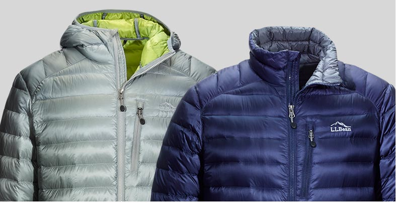 L.L.Bean Ultralight 850 Down Jackets.