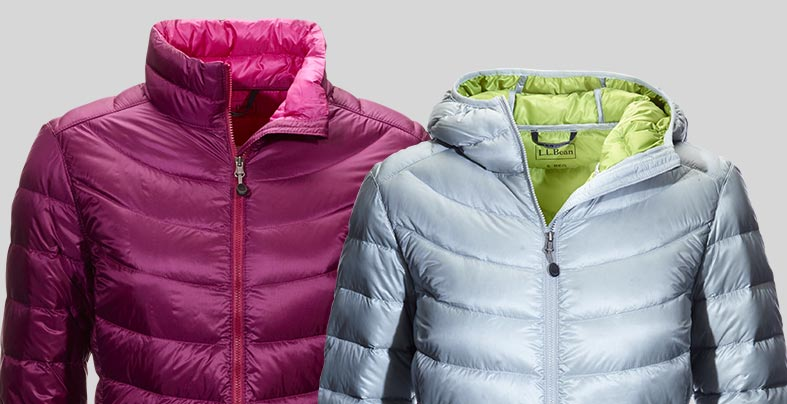 men's and women's ultralight 850 down jackets