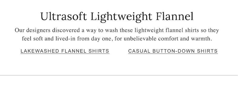 Ultrasoft Lightweight Flannel
