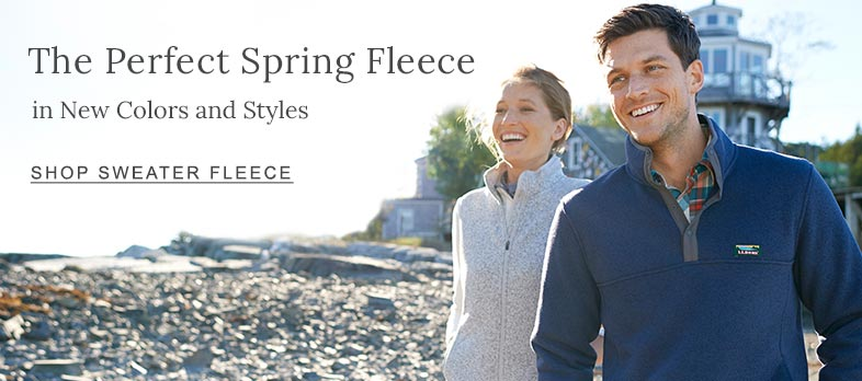 The Perfect Spring Fleece in New Colors and Styles