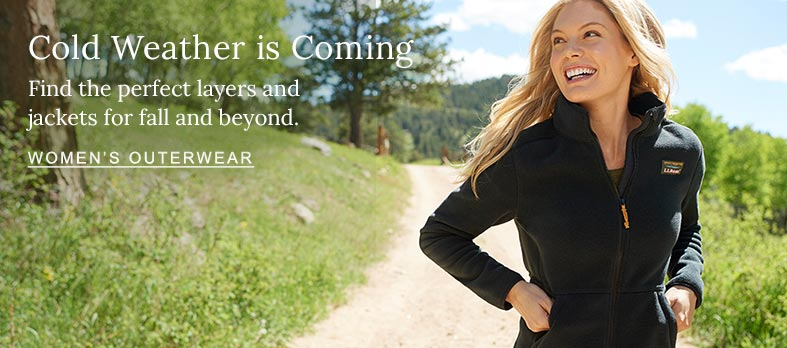 Cold Weather is Coming. Find the perfect layers and jackets for fall and beyond.