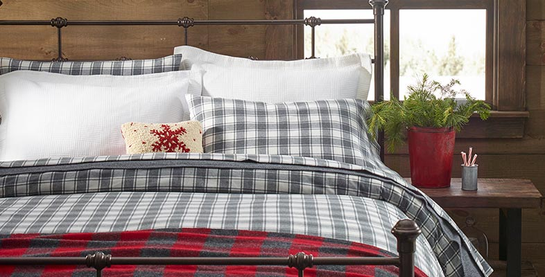 Comfortable and cozy L.L.Bean flannel sheets.