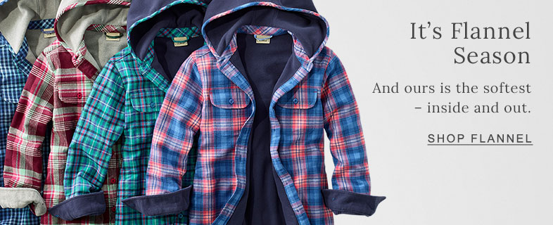 It's Flannel Season And ours is the softest – inside and out.
