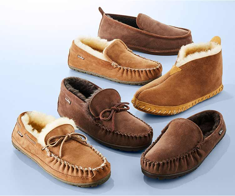 selection of Wicked Good Slippers for whole family