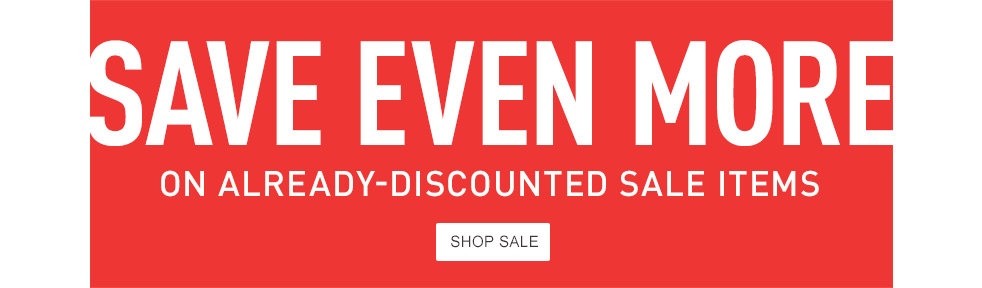 Save even more on already-discounted sale items