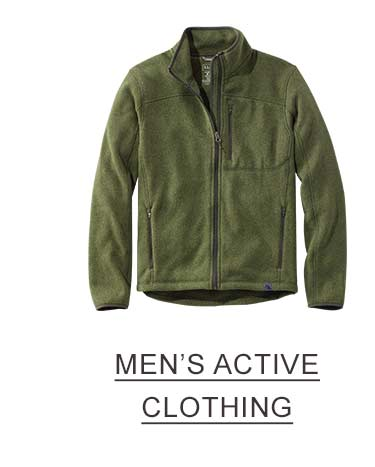 Men's Active Clothing.