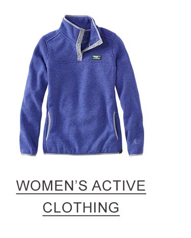 WOMENS ACTIVE CLOTHING.