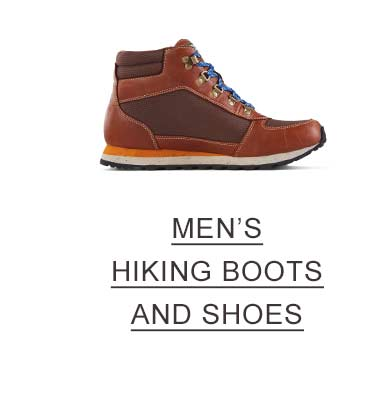 Men's Hiking Boots and Shoes.