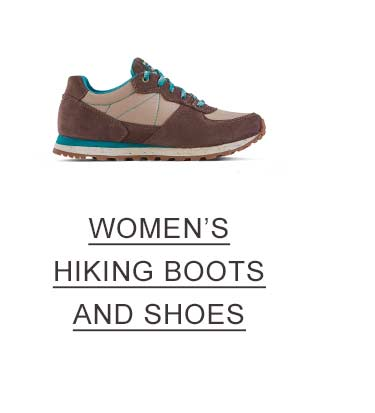 Women's Hiking Boots and Shoes.